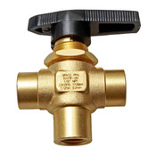 Parker 3WAY 1/2 Turn Valve 2500 PSI