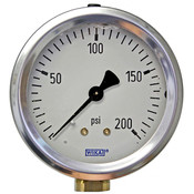 "WIKA 2.5"" Air Pressure Gauge 200PSI"