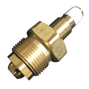 CGA 702 BRASS NUT AND CGA 702 BRASS NIPPLE 5500PSI to 7500PSI FOR CGA 702 UN CYLINDER VALVE