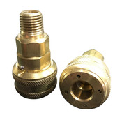 Brass Quick Disconnect LP Coupler