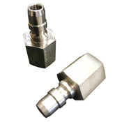 CON-0223 SS Full Flow Quick Connect Nipple 6000PSI