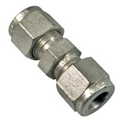 "1/4"" Compression Tube Union Fitting"