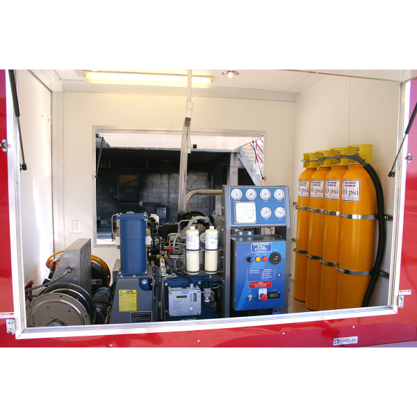 Breathing Air System Mobile Trailer