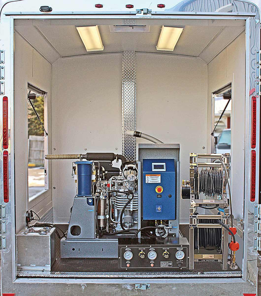 High Pressure Breathing Air Trailer