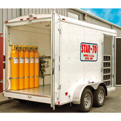 STAR70DELUXE | MOBILE BREATHING AIR Cascade Trailer
