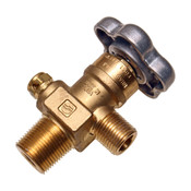 CGA 347 BRASS DOT BREATHING AIR CYLINDER VALVE 4500PSI