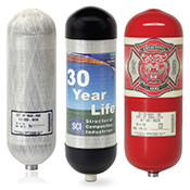 Replacement SCBA Cylinders